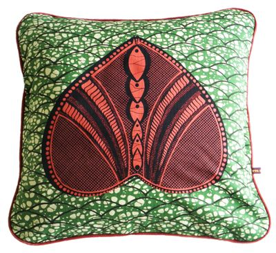 Okan cushion by eva sonaike evasonaike tribal printslamp shadesafrican