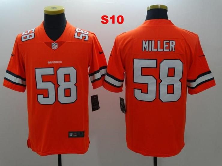 Men 58 Von Miller Jersey Football Denver Broncos Jersey  db92fe447