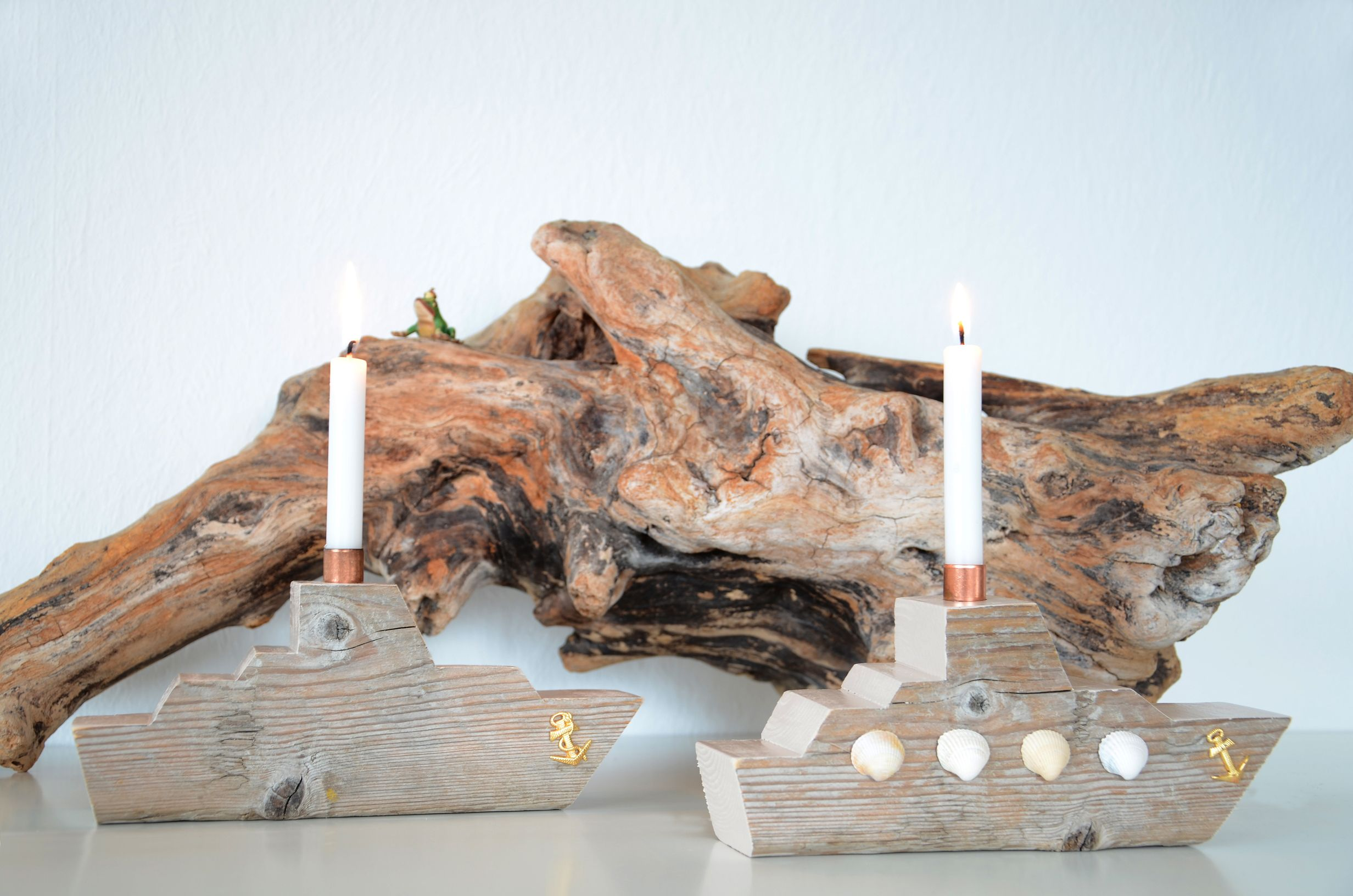 Treibholz-Dampfer ~ driftwood sea cruiser | Treibholz ~ Driftwood ...