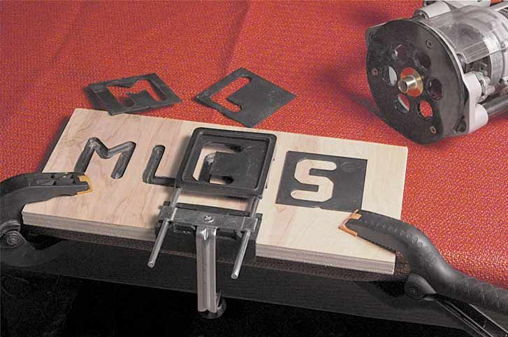 MLCS Router Letter Template | Woodworking | Router letter