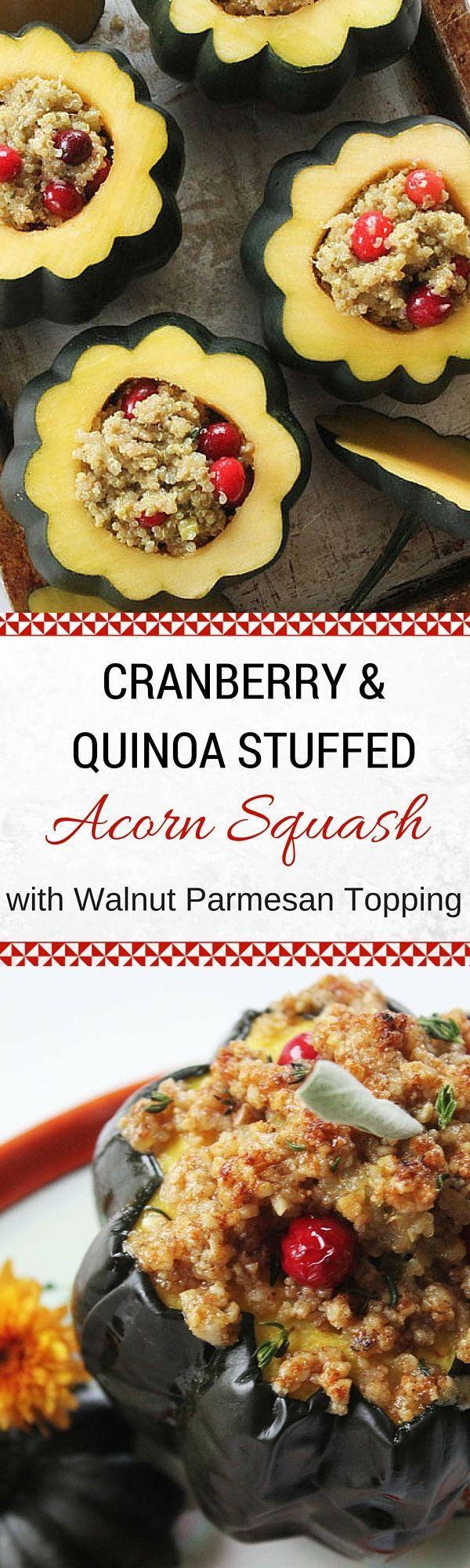 Quinoa Stuffed Squash - Wendy Polisi