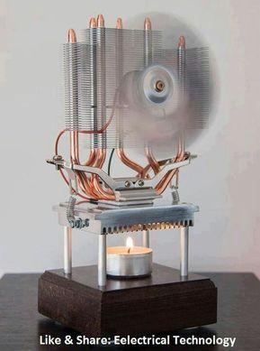 Thermoelektrischer Lüfter Angetrieben durch eine Kerze - #Angetrieben #durch #eine #Kerze #Lüfter #recuperation #Thermoelektrischer #alternativeenergy