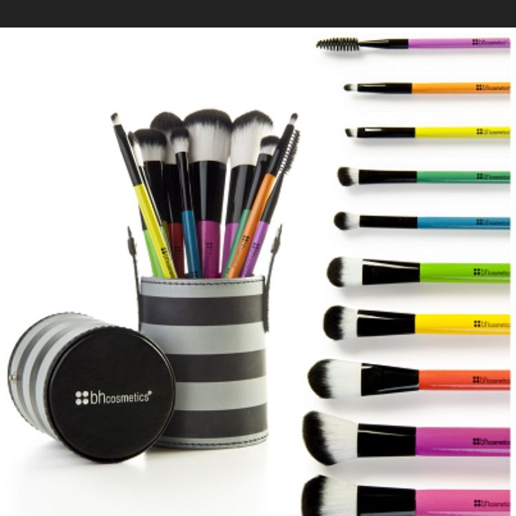 Bh Colored Face & Eye Nib Brush Set !! in 2020   Makeup ...