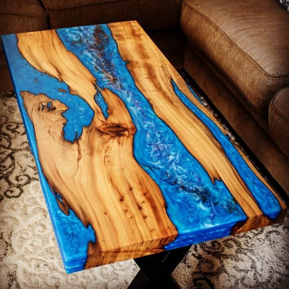 Blue River Sinker Cypress Coffee Table In 2019 Diy Resin