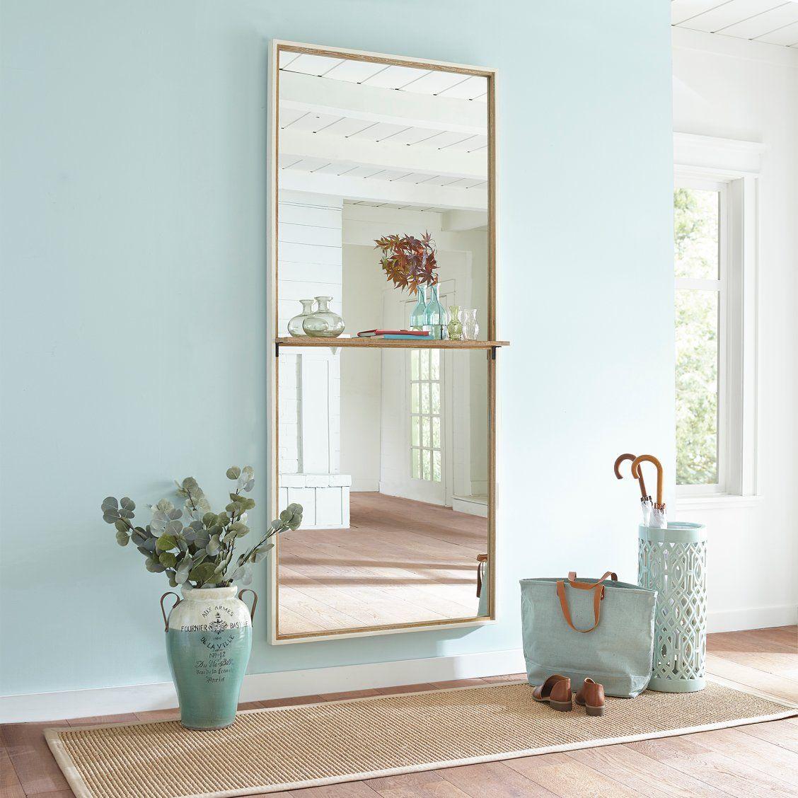 Hollen Entryway Mirror With Shelf Entryway Mirror Entry Mirror Entryway Decor
