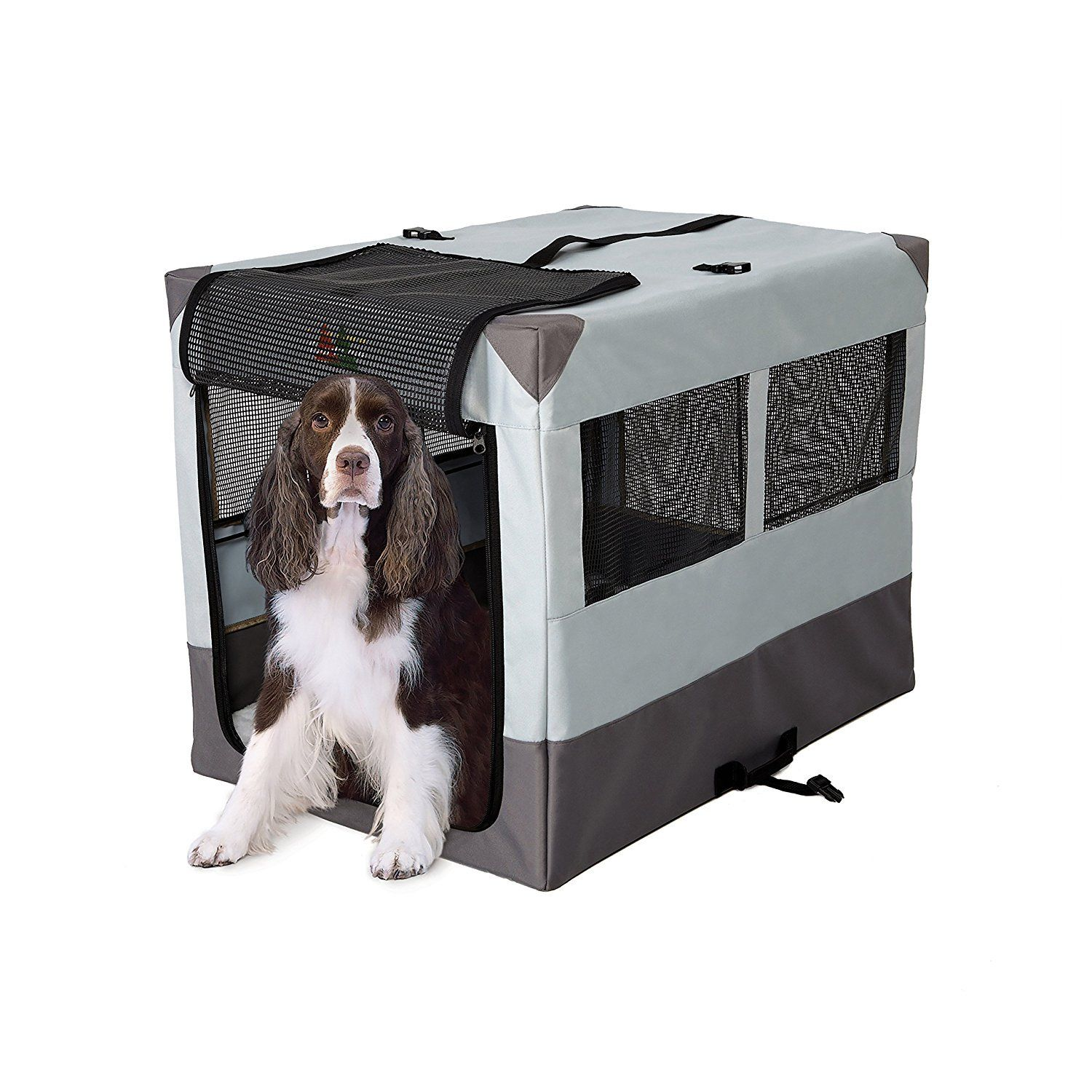 Midwest 1736sp Canine Camper Sportable Crate Portable Dog Kennels Portable Dog Crate Large Dog Crate
