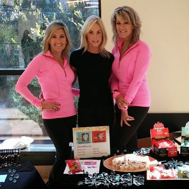 The Charmed Girls at a charity event! www.charmedbar.com