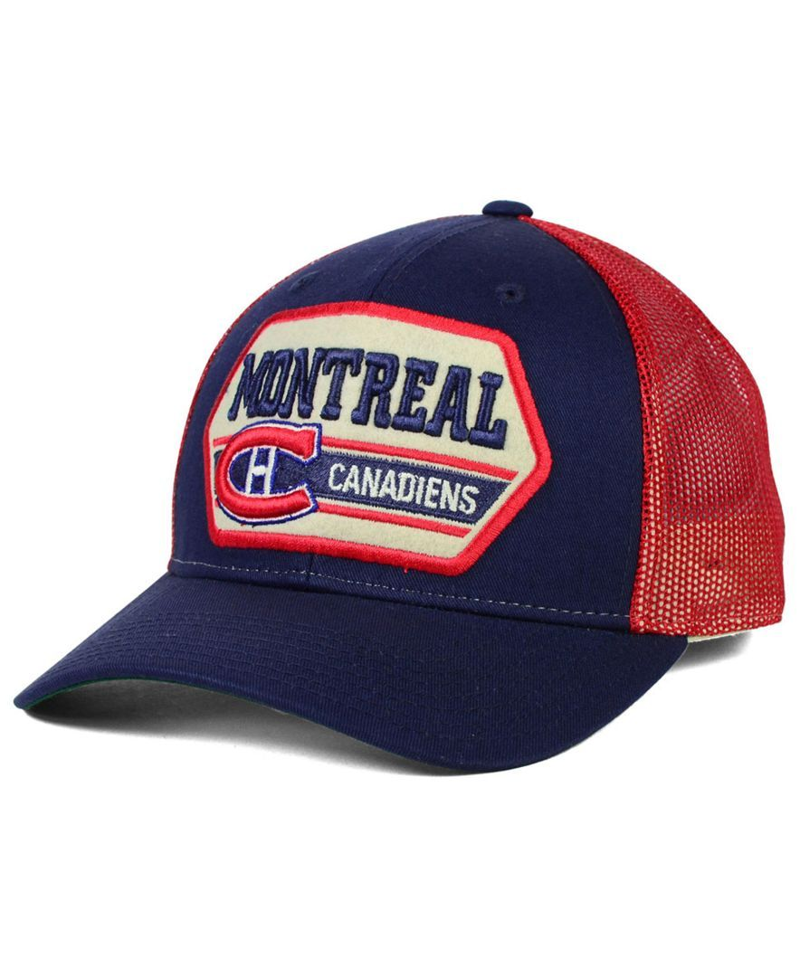 e783273a029e8 Ccm Montreal Canadiens Trucker 9FORTY Cap