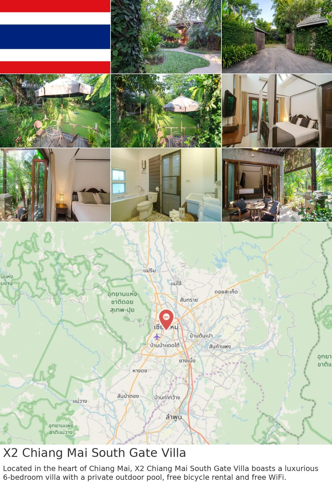 X2 Chiang Mai South Gate Villa In 2019 South Gate Chiang