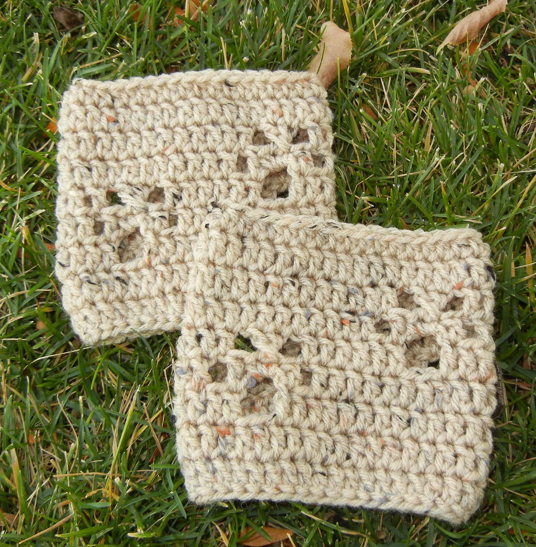 Dorable Patrón Toalla De Plato Superior Crochet Modelo - Manta de ...