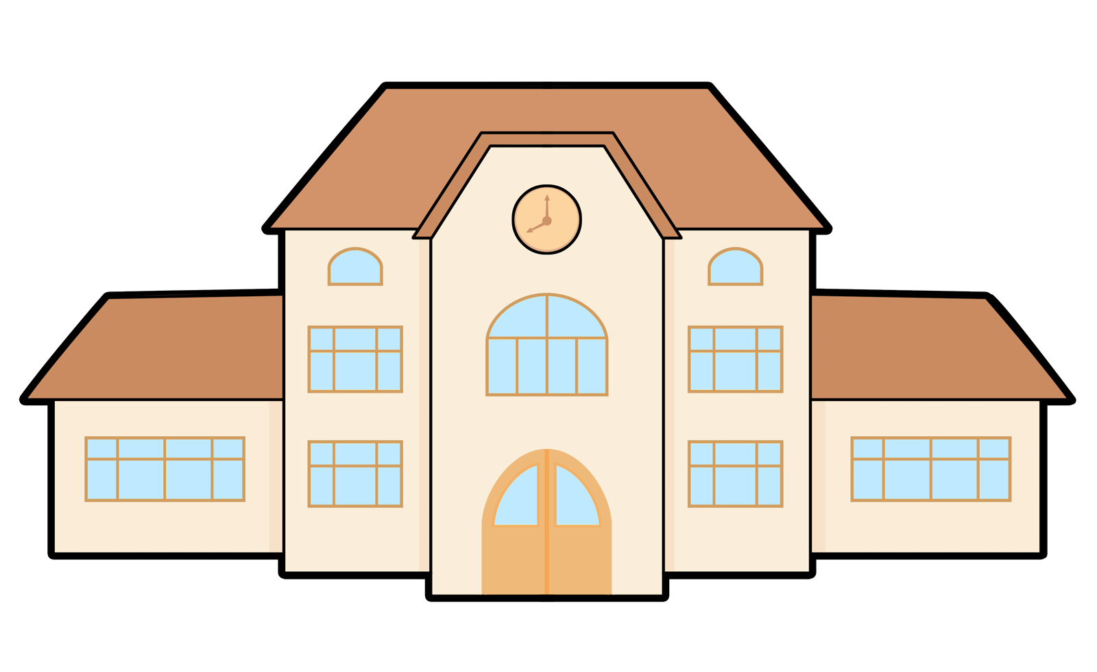 school building clip art education iconography pinterest rh pinterest com building clip art free downloads building clip art free downloads