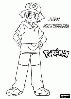ash ketchum pokemonkleurplaten http www
