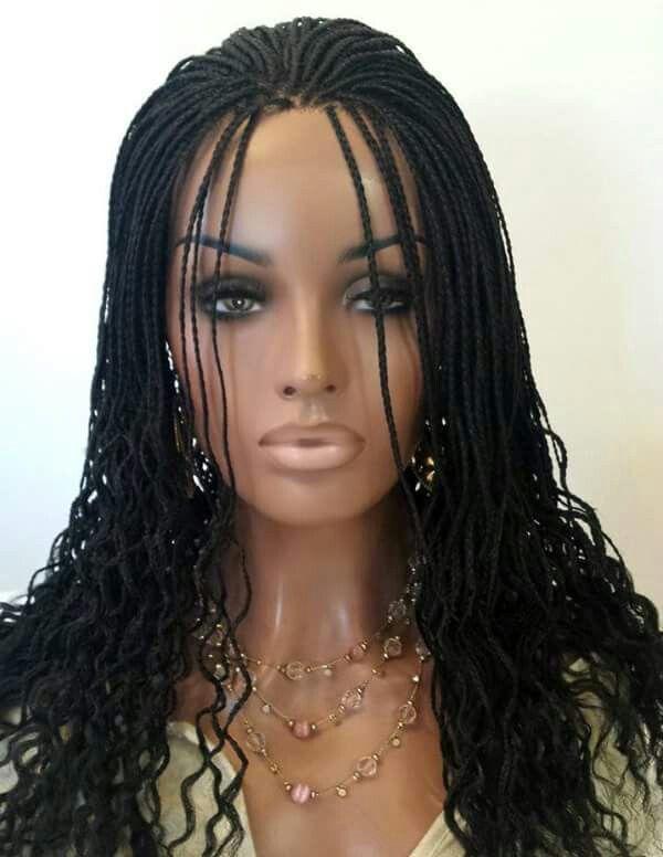 Custom Full Lace Micro Braided Wig Www Goldcoastdiva Net