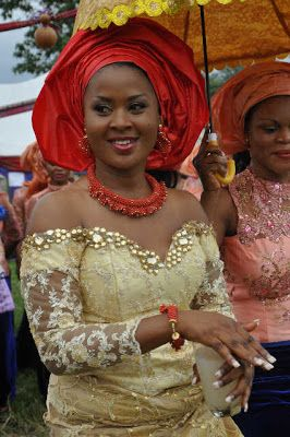 """2b23bb941e54e2 Trendy Blouse Styles Made With """"lace"""" - Fashion - Nigeria Traditional  Wedding Attire,"""