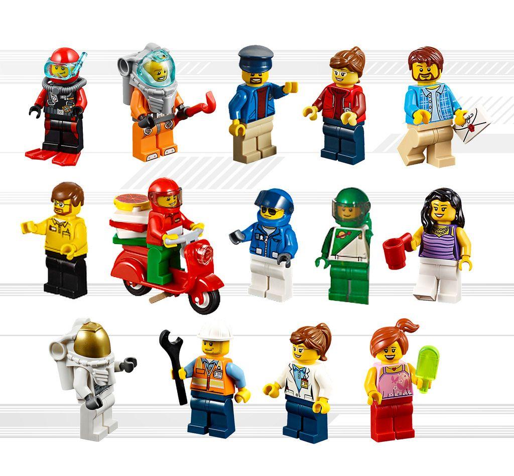 Genuine LEGO® Minifigure Brand New Female LEGO City Character