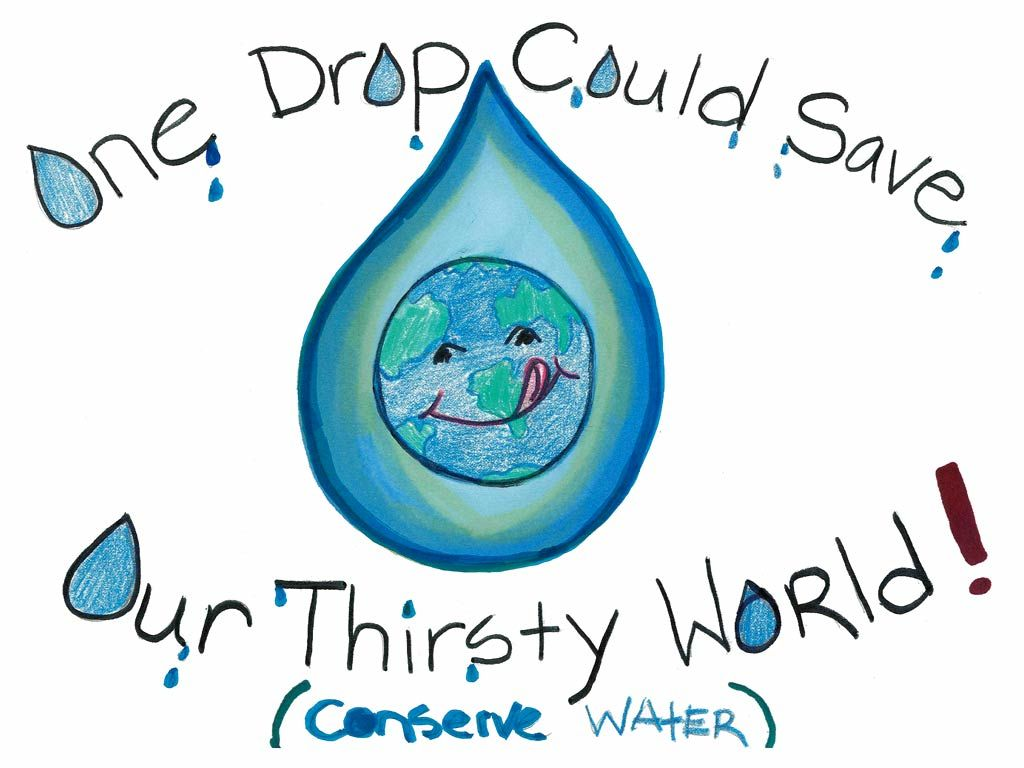 Water conservation poster contest wallpaper water department