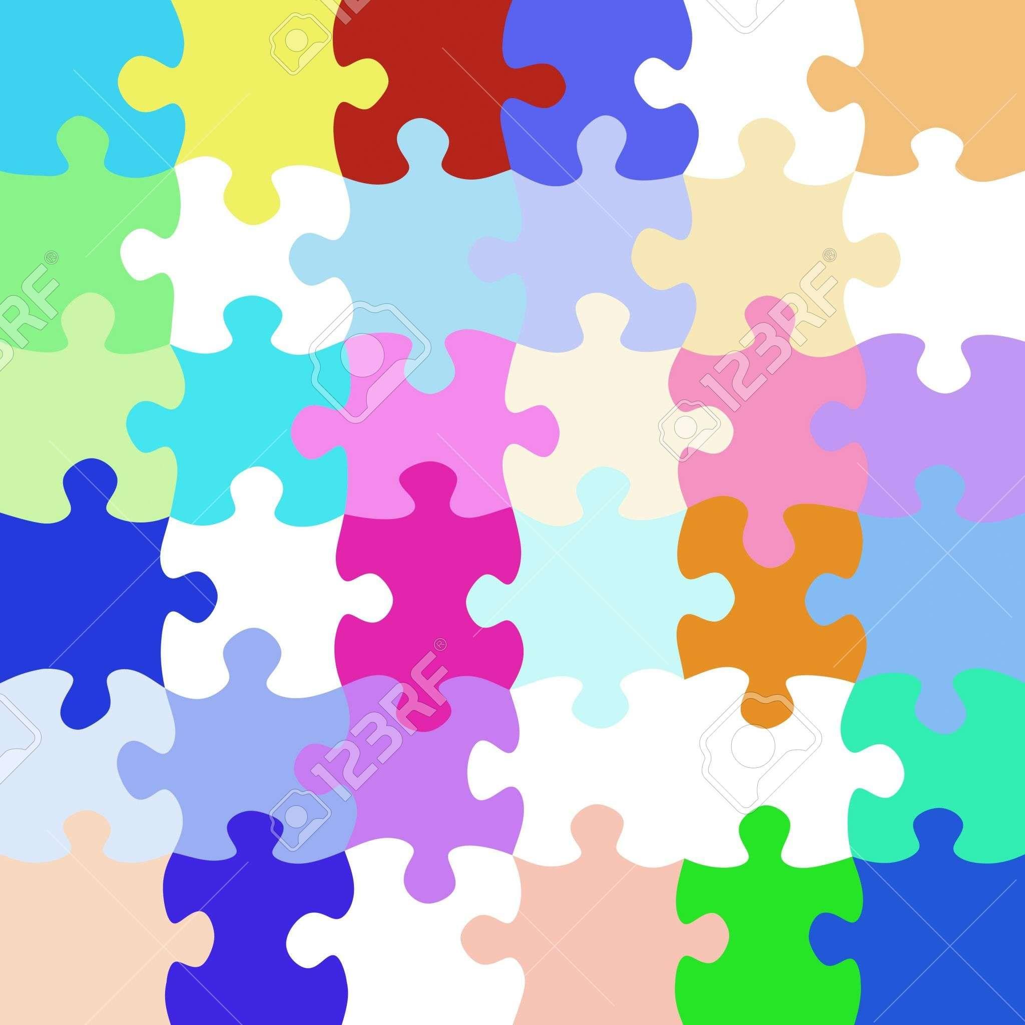 Textura de colores brillantes piezas de rompecabezas | tar jetas en ...