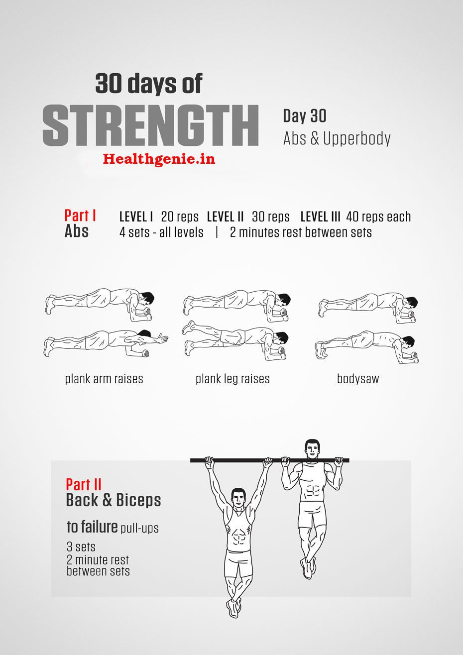 diet plan for strength and stamina