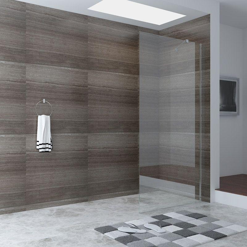 Frameless Shower Screen Glass Panel 1000x1900mm | Shower screen ...