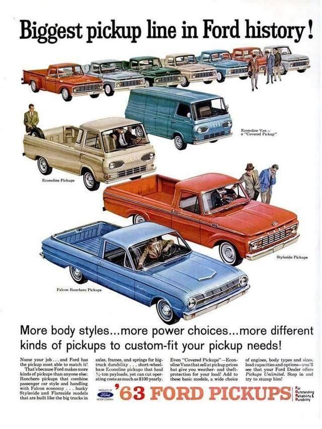 Pin By John Jones On Classic Cars Ford Trucks Automobile Advertising Ford Pickup Trucks