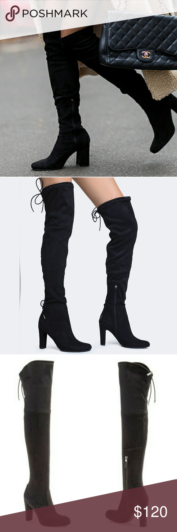 4839ca9559a Sam Edelman Kent Suede Over The Knee Boots