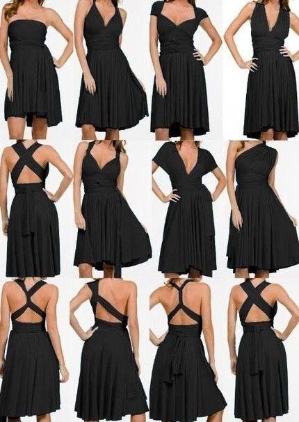 Tipos de escotes para vestidos de gala