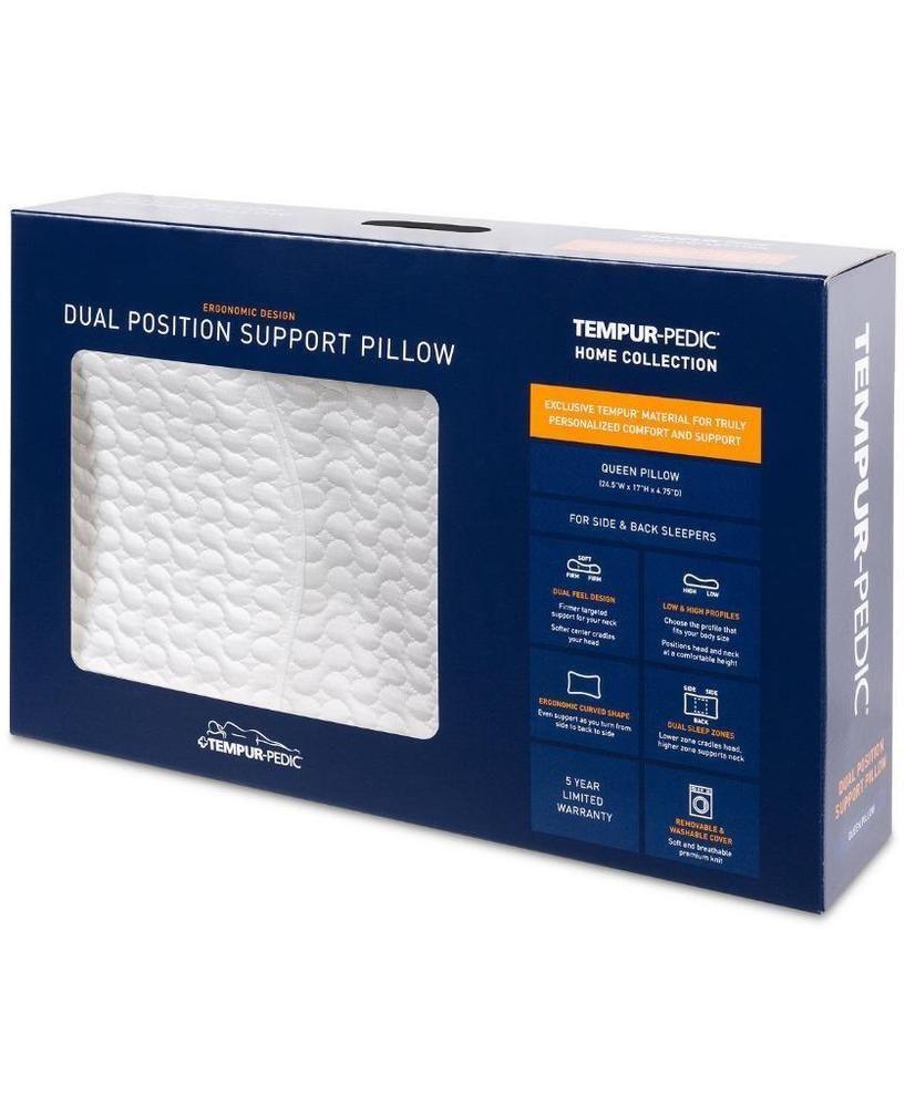 tempur pedic dual position support