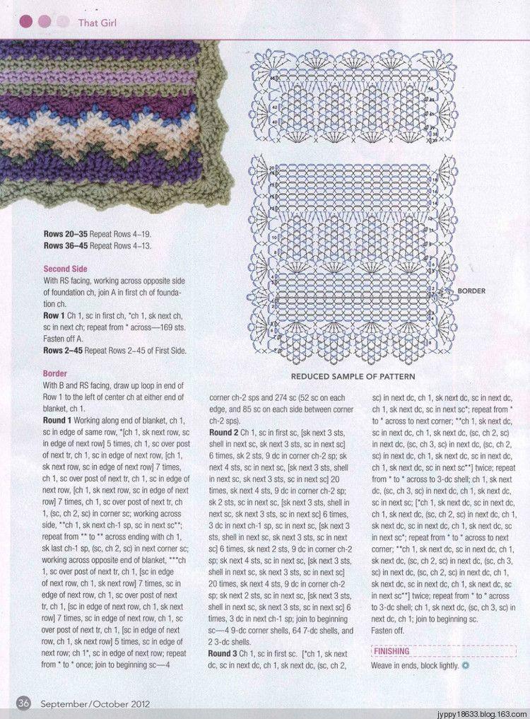 Crochet Today 9-10月 2012 - 沫羽 - 沫羽编织后花园   Progetti da ...