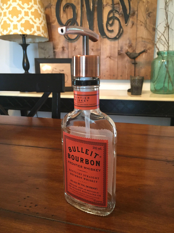Bulleit Bourbon Bottle Soap Dispenser 200ml Bulleit Bourbon