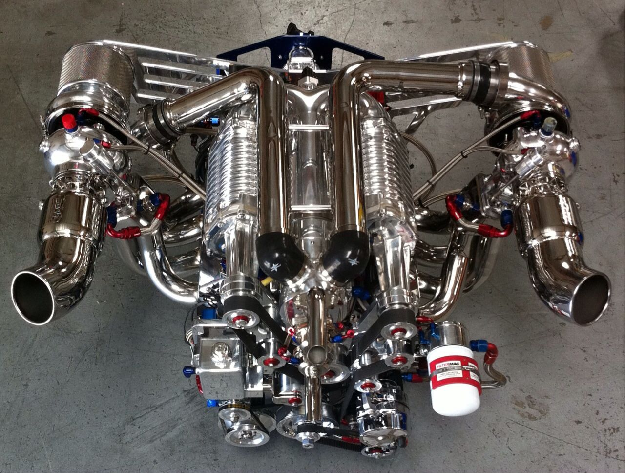 Twin Supercharged Turbo