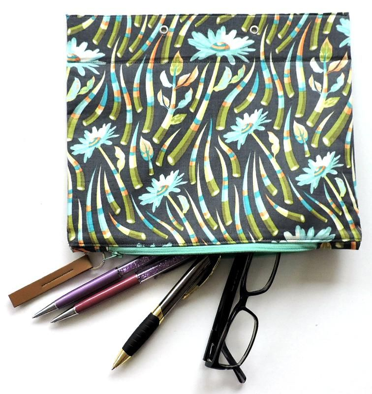 Ring Binder Pencil Case, Zip Pouch Organizer