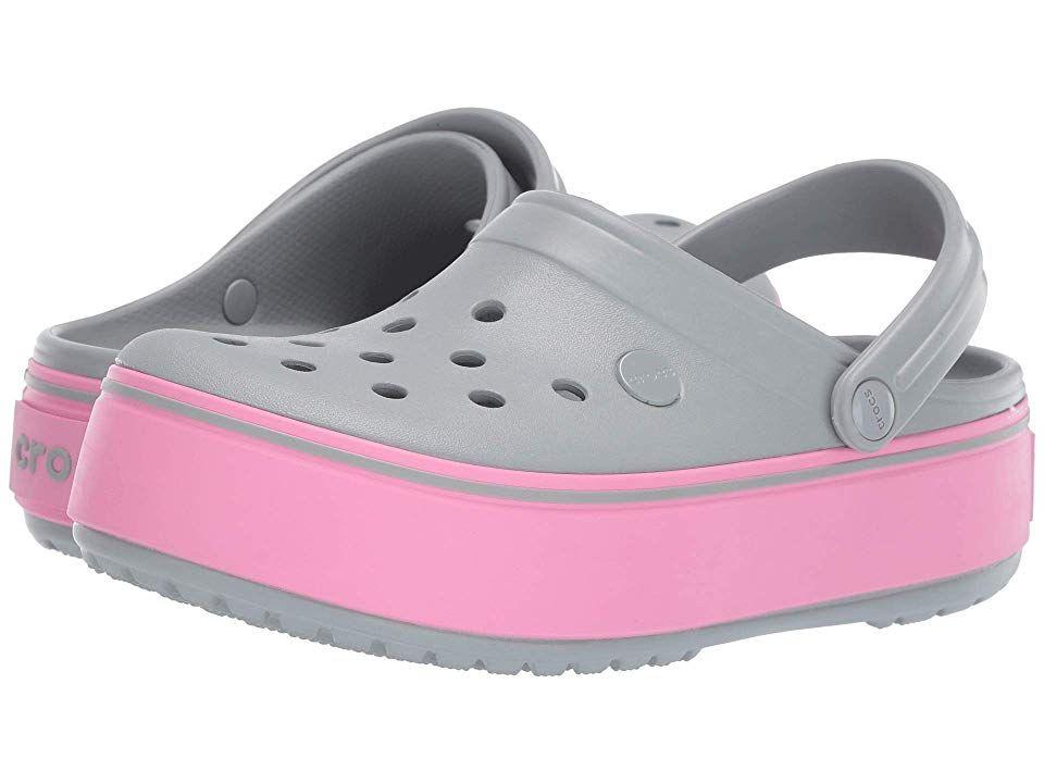 Crocs CROCBAND KIDS Unisex Boys Girls Croslite Comfy Summer Clogs Navy//Green