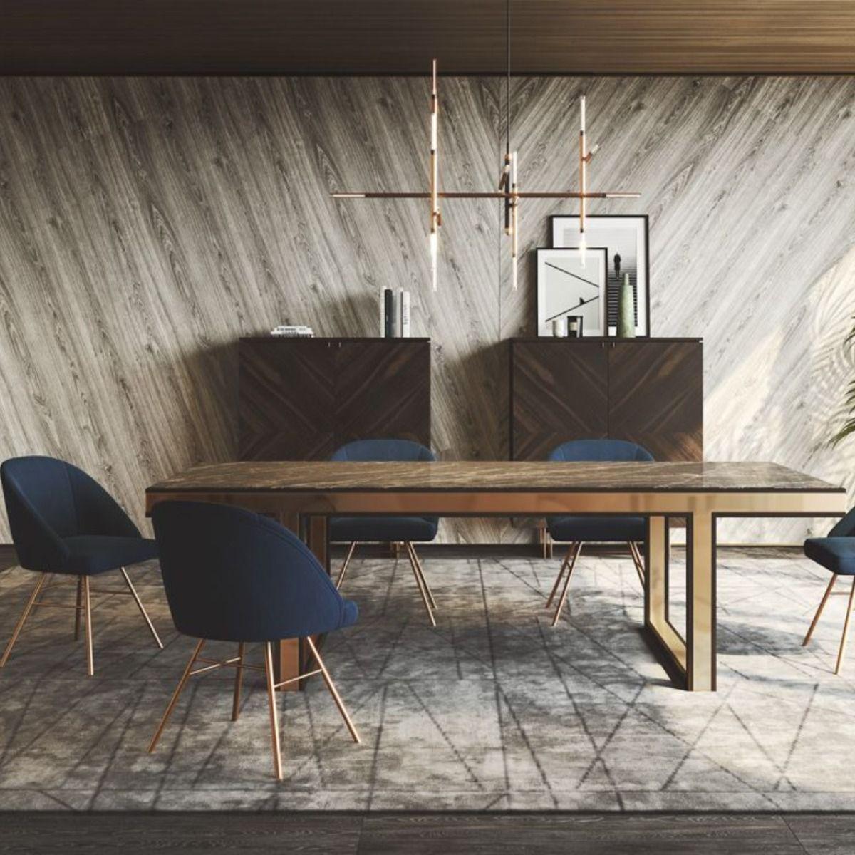 Table A Manger Beryl Laskasas En 2020 Mobilier De Salon Table A Manger Meuble Design