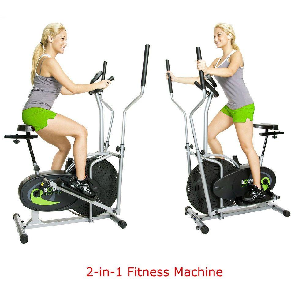 Elliptical Exercise Bike Cross Trainer Machine Home Gym Equipment