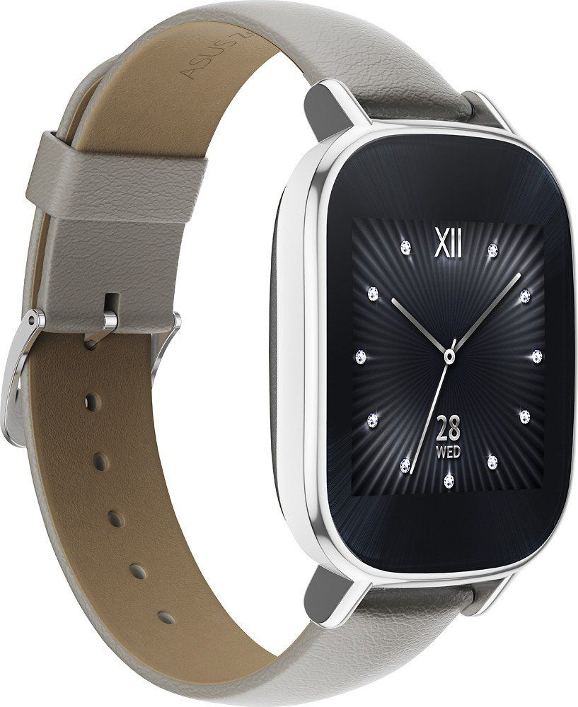 aeeb3b2cc Asus - ZenWatch 2 WI502Q Smartwatch Silver. Product Features Compatible  with select iPhone models and