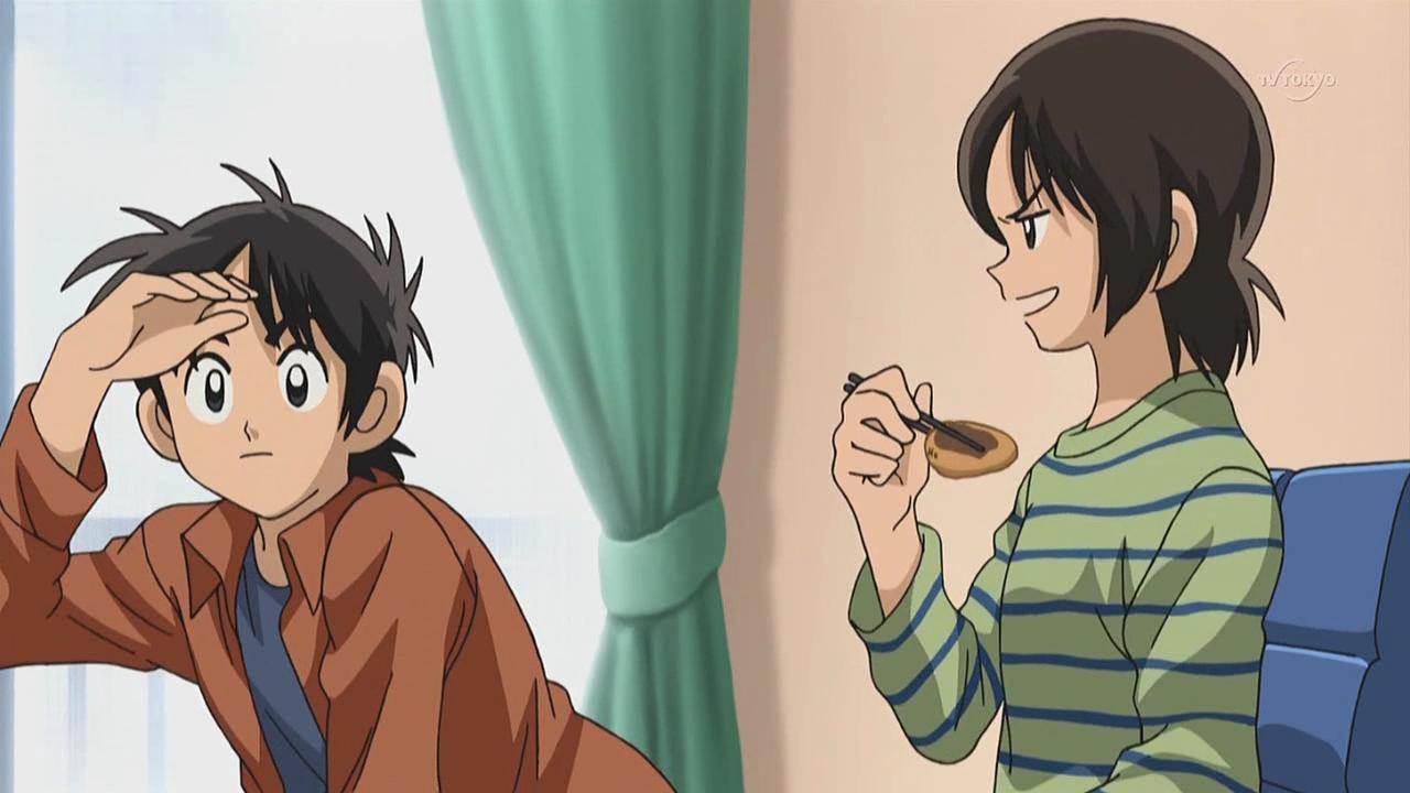 Kou and Aoba _Cross Game Anime, Kuriyama, Adachi mitsuru