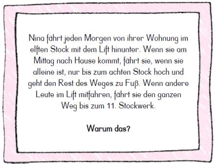 Knacknuss 216 Spruch Des Tages Lustig Logik Ratsel Grundschule