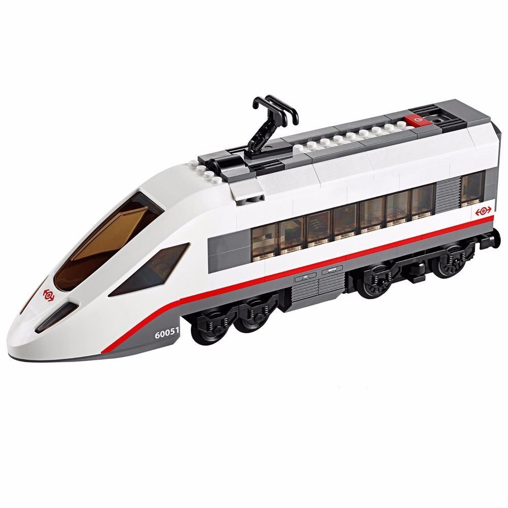Lego City 60051 High Speed Passenger Train Front Car Only Power Functions New Lego City Train Lego Trains