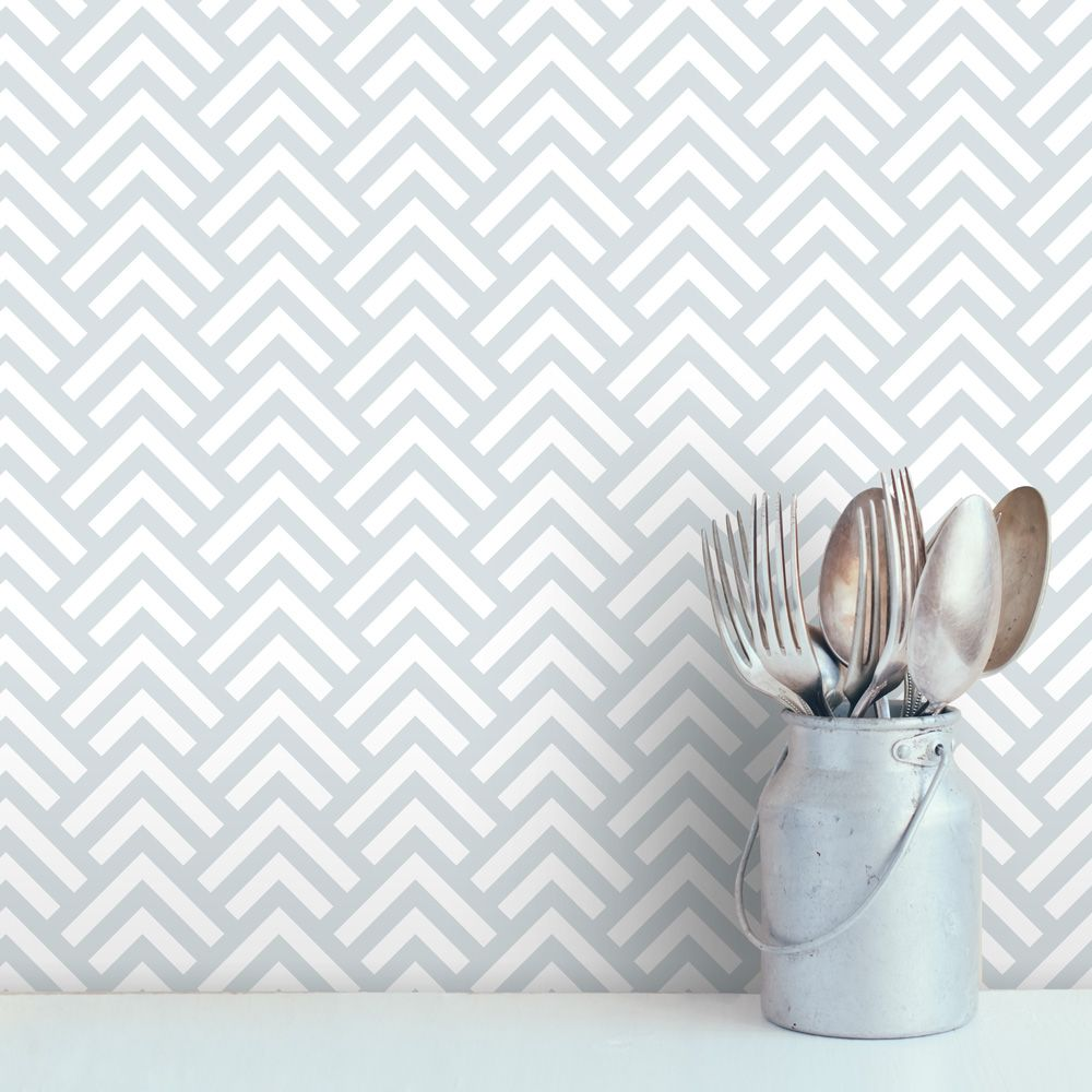 Line Scales Removable Wallpaper Tile Peal, stick