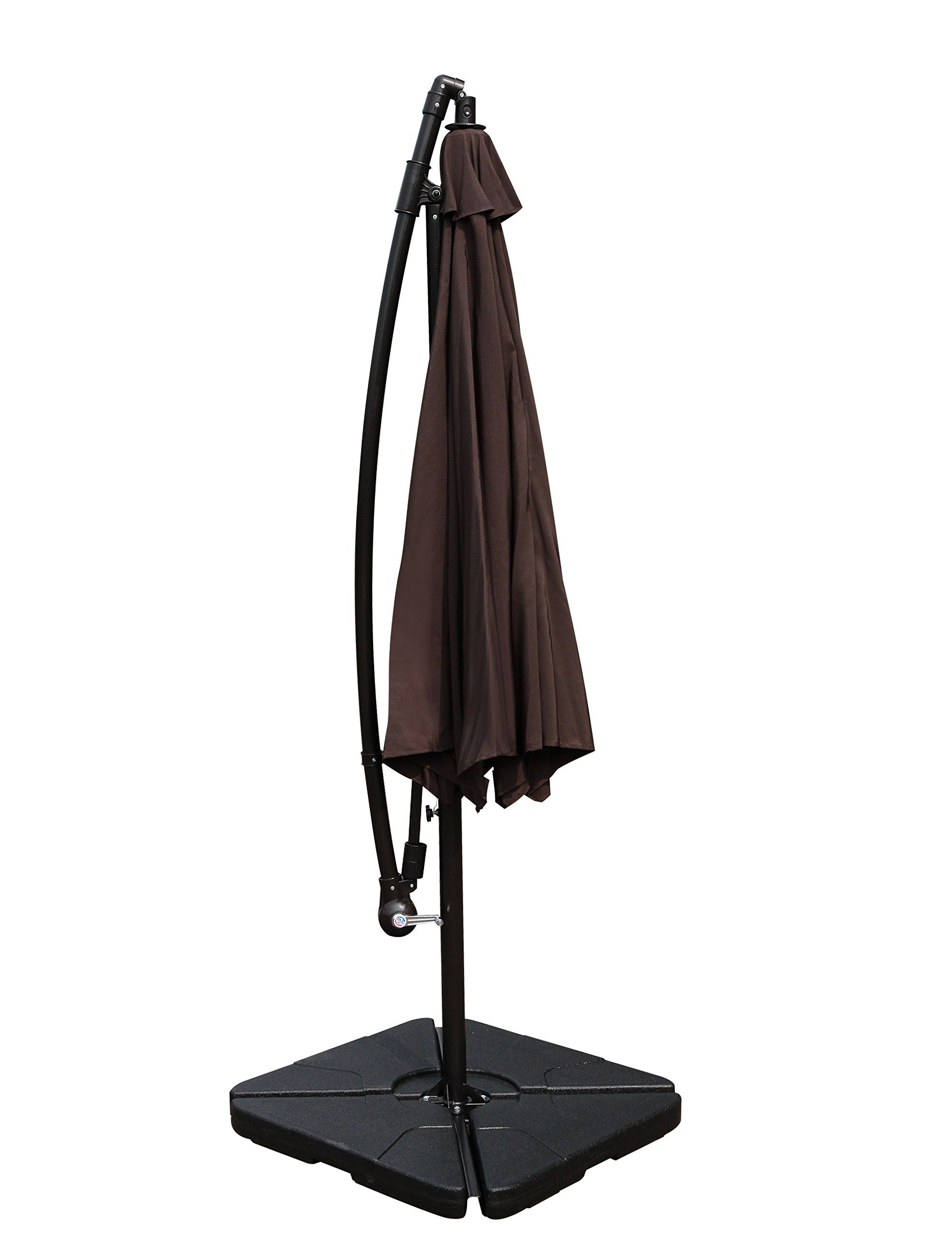 Patioroma Patio Cantilever Offset Umbrella Stand Weights For Cross