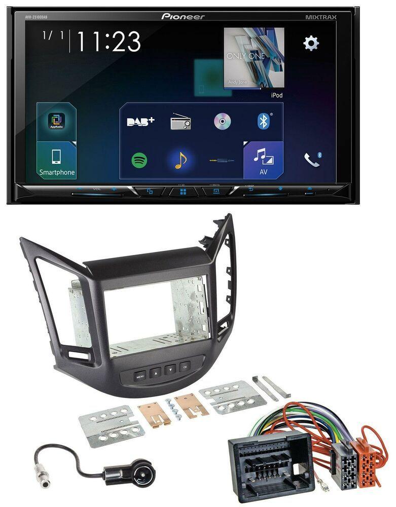 Pioneer Bluetooth Dvd Mp3 Usb Dab 2din Autoradio Für Chevrolet Orlando Kl1y Kl1y Gps Smartphone Ipod
