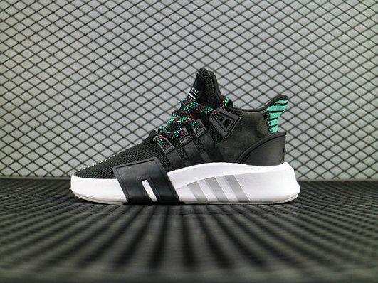 19b46f024d3b adidas EQT BASK ADV Black White Green CQ2993 Running Boost adidas For Sale  Big Boys Youth