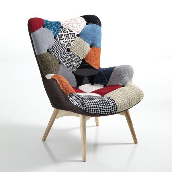 Poltrona Vanessa Tomasucci.Tomasucci 客厅空间 Cafe Furniture Sofa Chair Vintage