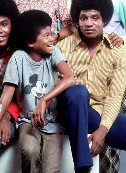 Jackie Jackson And Michael Jackson