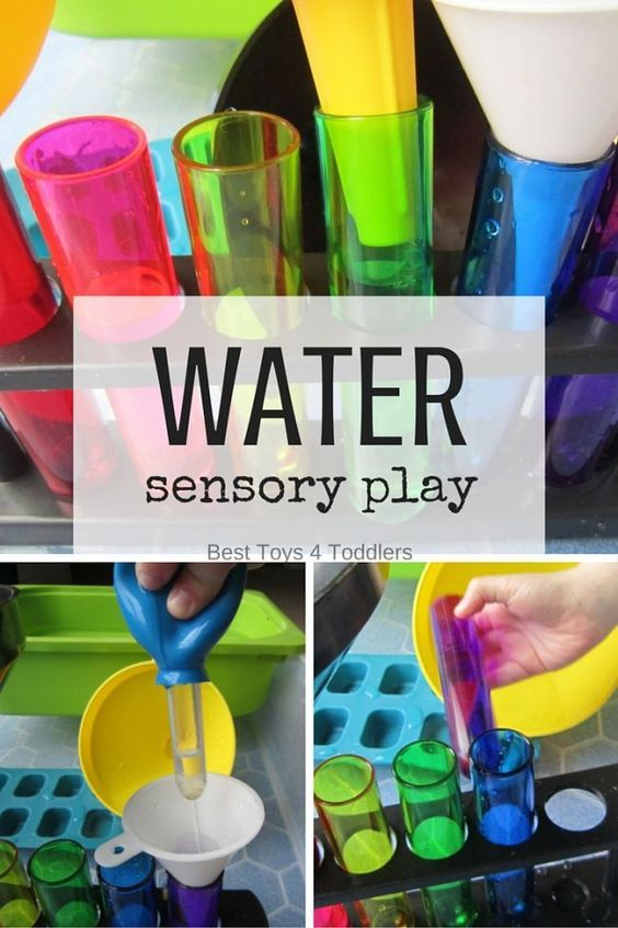 Best Toys 4 Toddlers - Water sensory play and fine motor practice for toddlers and preschoolers