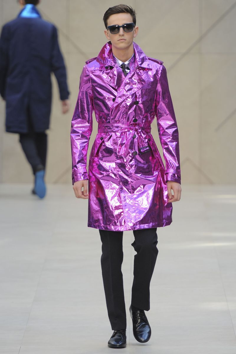 Men's SS13 Fashion Trend Preview: Metallics advise