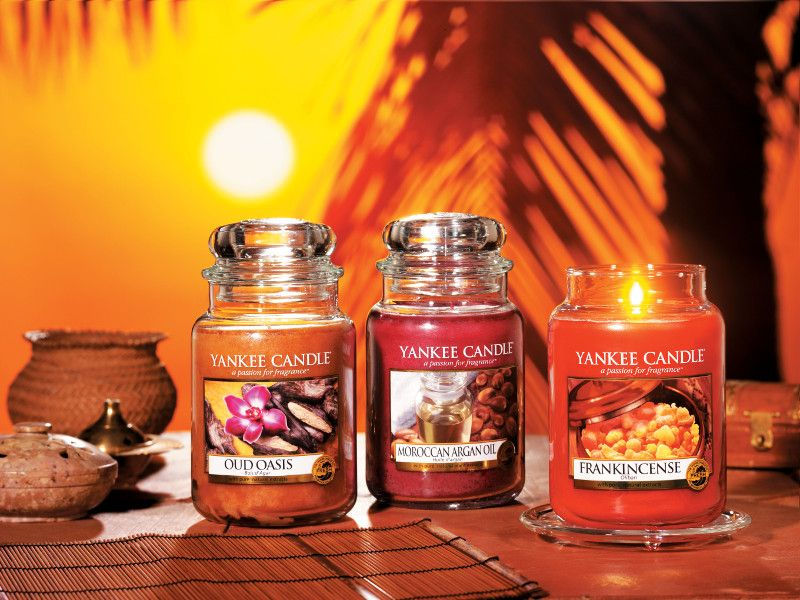 YANKEE CANDLE votives Oud Oasis