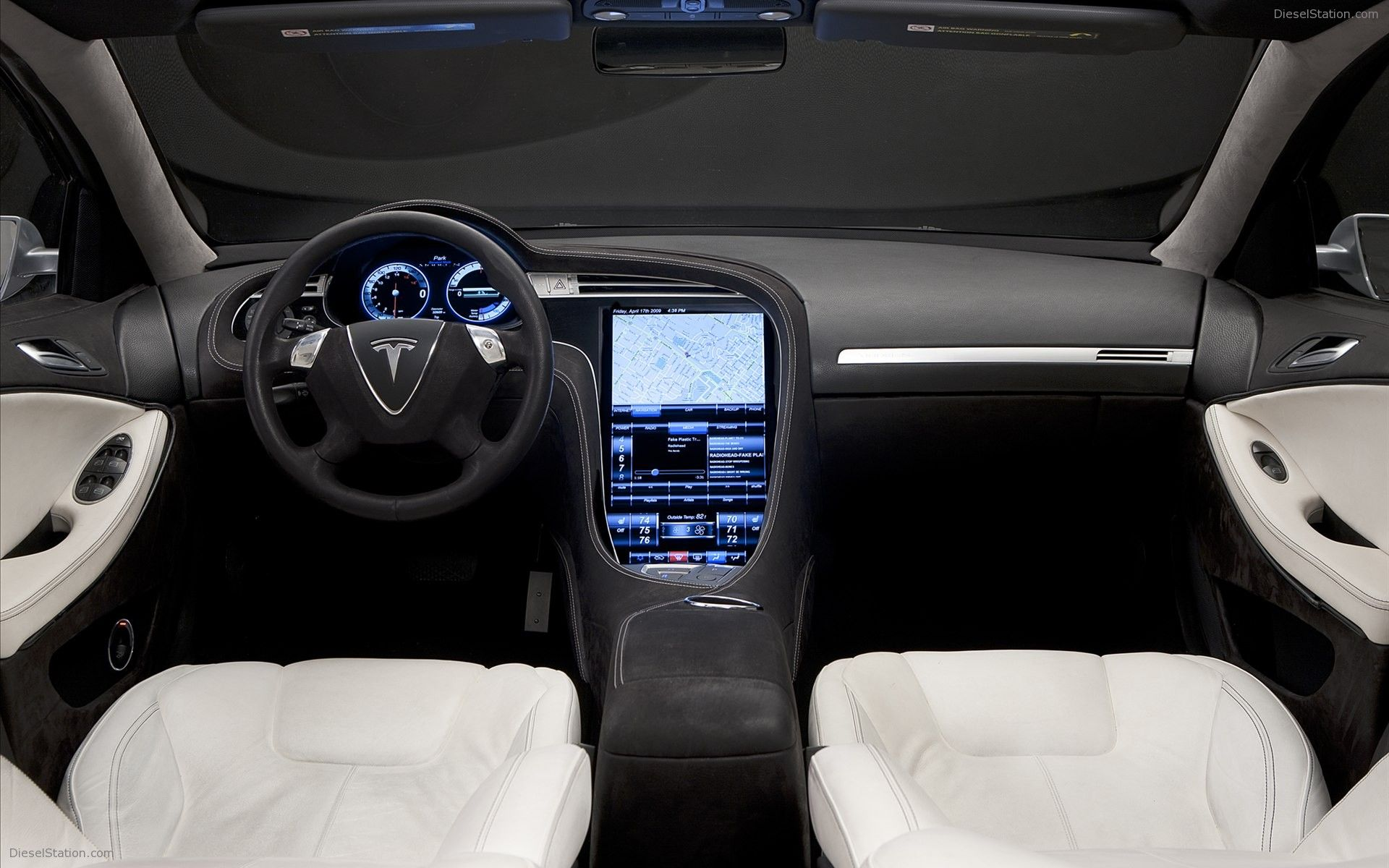 Tesla Alpha Model S 2012