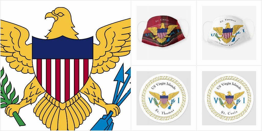 Here Is A Collection Of United States Virgin Islands Gift Products Browse In 2020 Historical Gift United States Virgin Islands Virgin Islands Flag