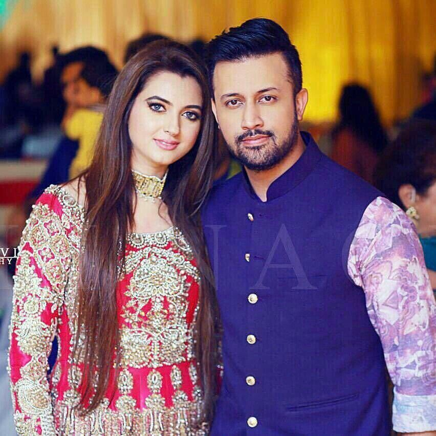 Image result for atif aslam wife